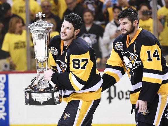 NHL: MAY 25 Eastern Conference Final Game 7 – Senators at Penguins