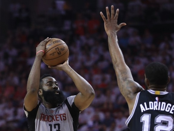 San Antonio Spurs v Houston Rockets – Game Four