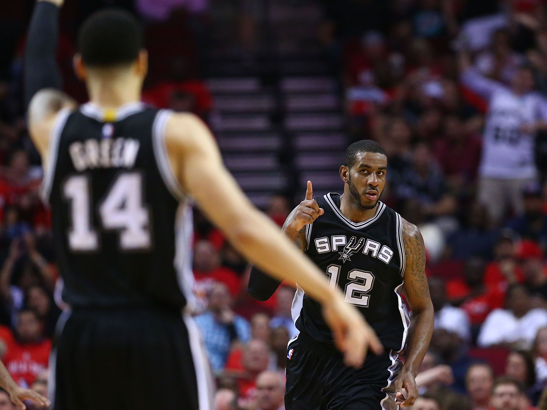 San Antonio Spurs v Houston Rockets – Game Six