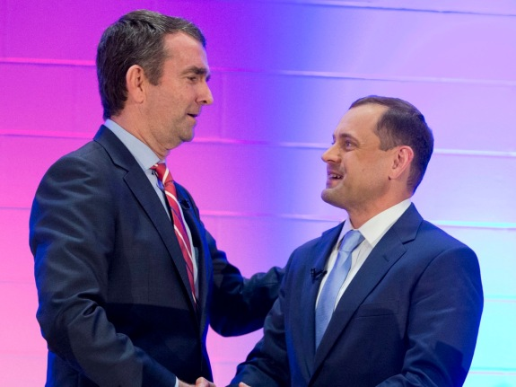 Ralph Northam,Tom Perriello