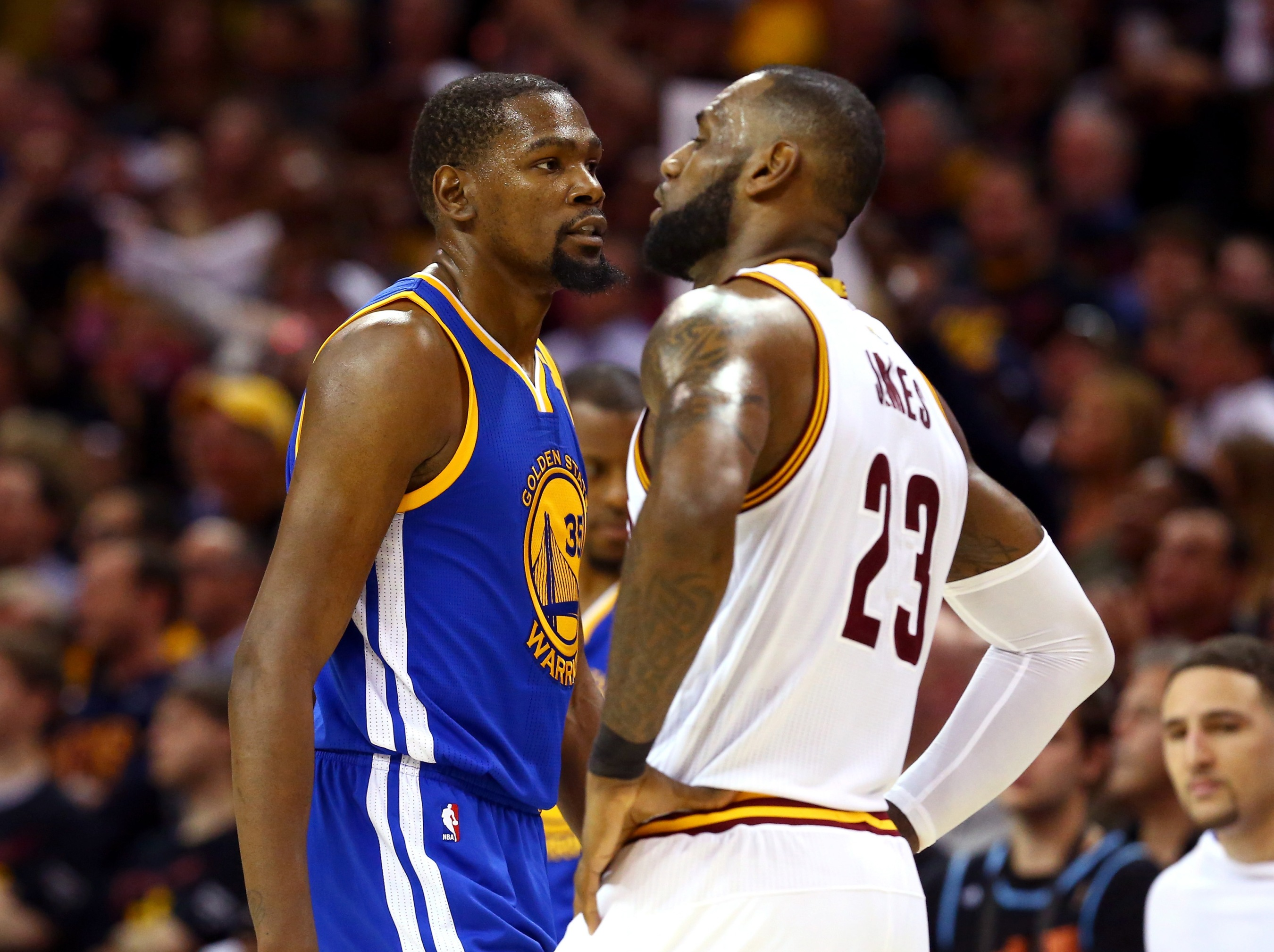 6896d5c7608 Kevin Durant Closes The Door On LeBron
