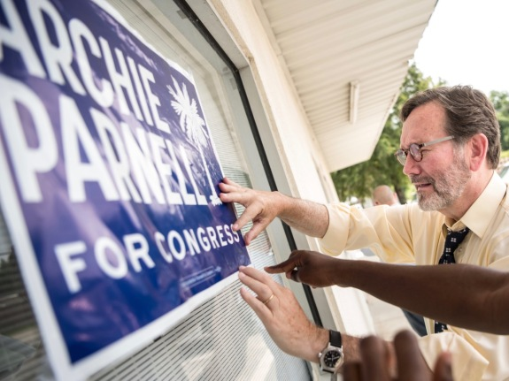 Democratic SC Congressional Candidate Archie Parnell Campaigns Ahead Of Election
