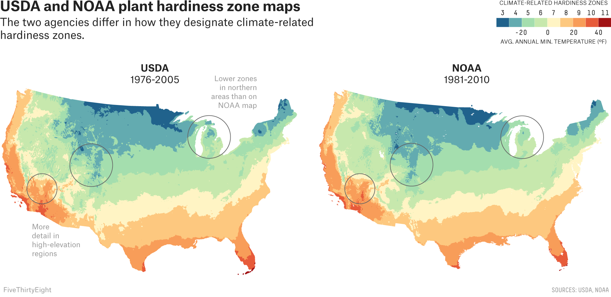 Two Government Agencies Two Different Climate Maps Fivethirtyeight