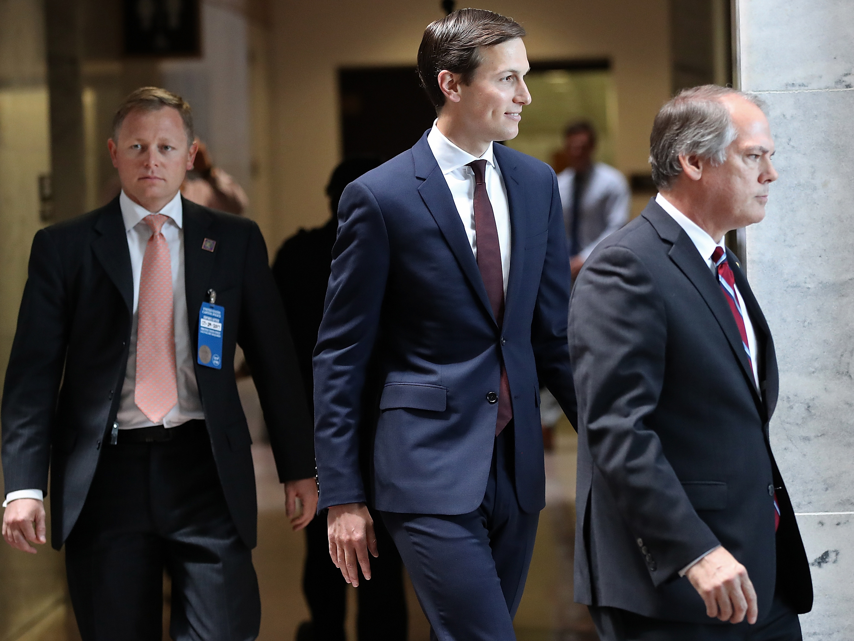 Jared Kushner Interviewed By Senate Intelligence Cmte In Closed Session