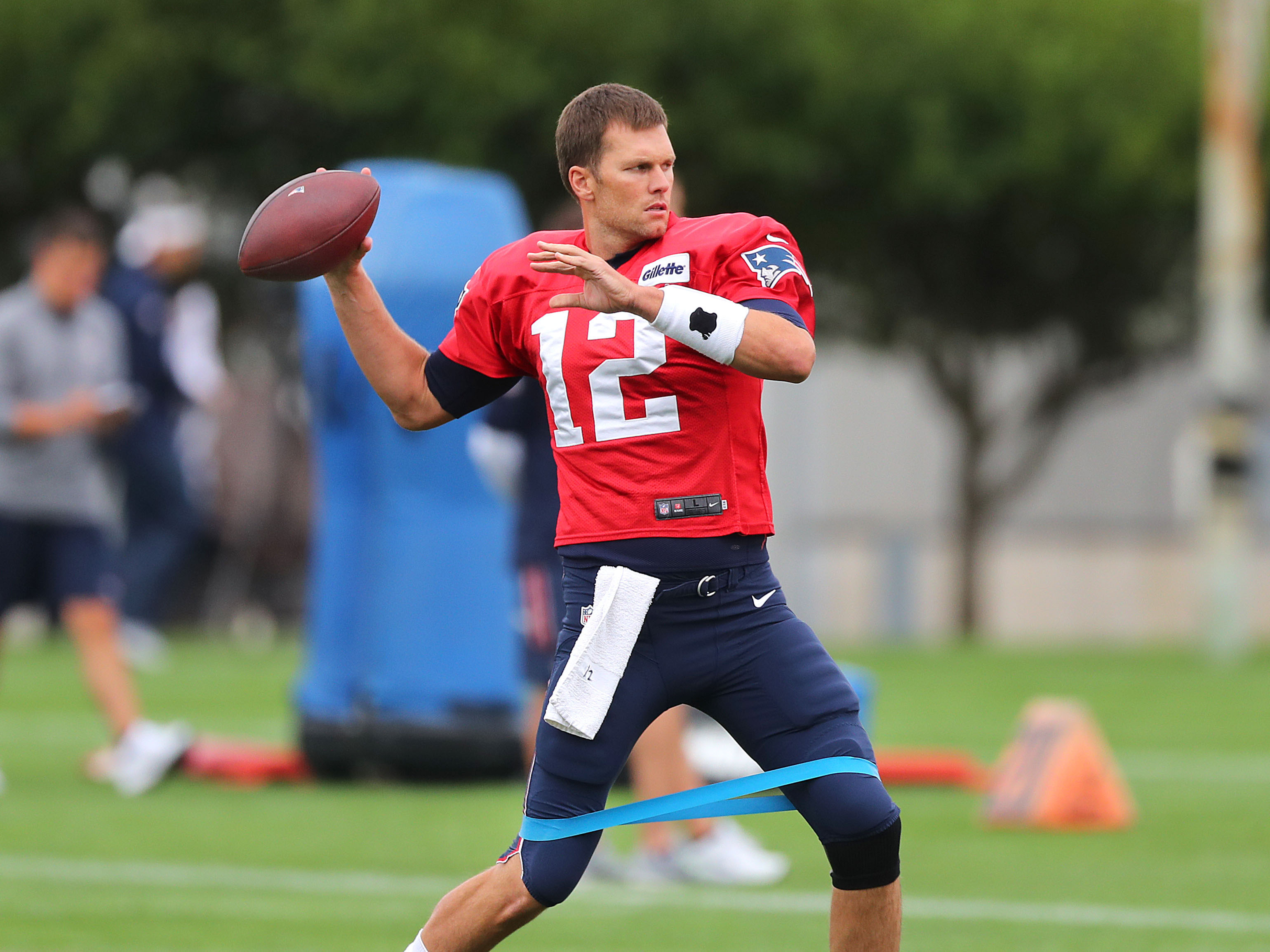 Third Day Of New England Patriots Training Camp