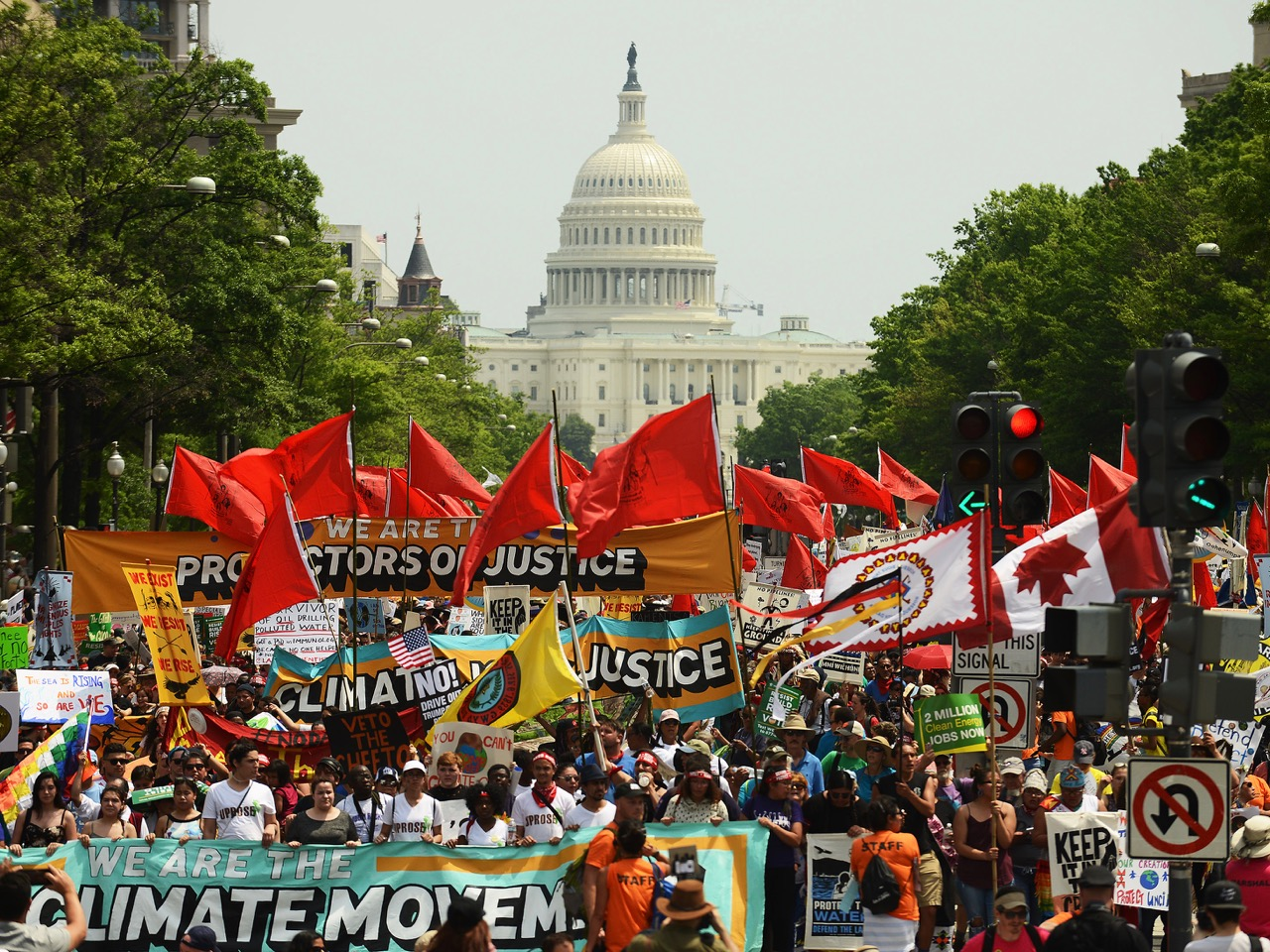 Climate Marches Take Place Across Country