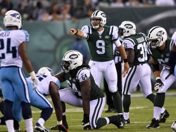 NFL: AUG 12 Preseason – Titans at Jets