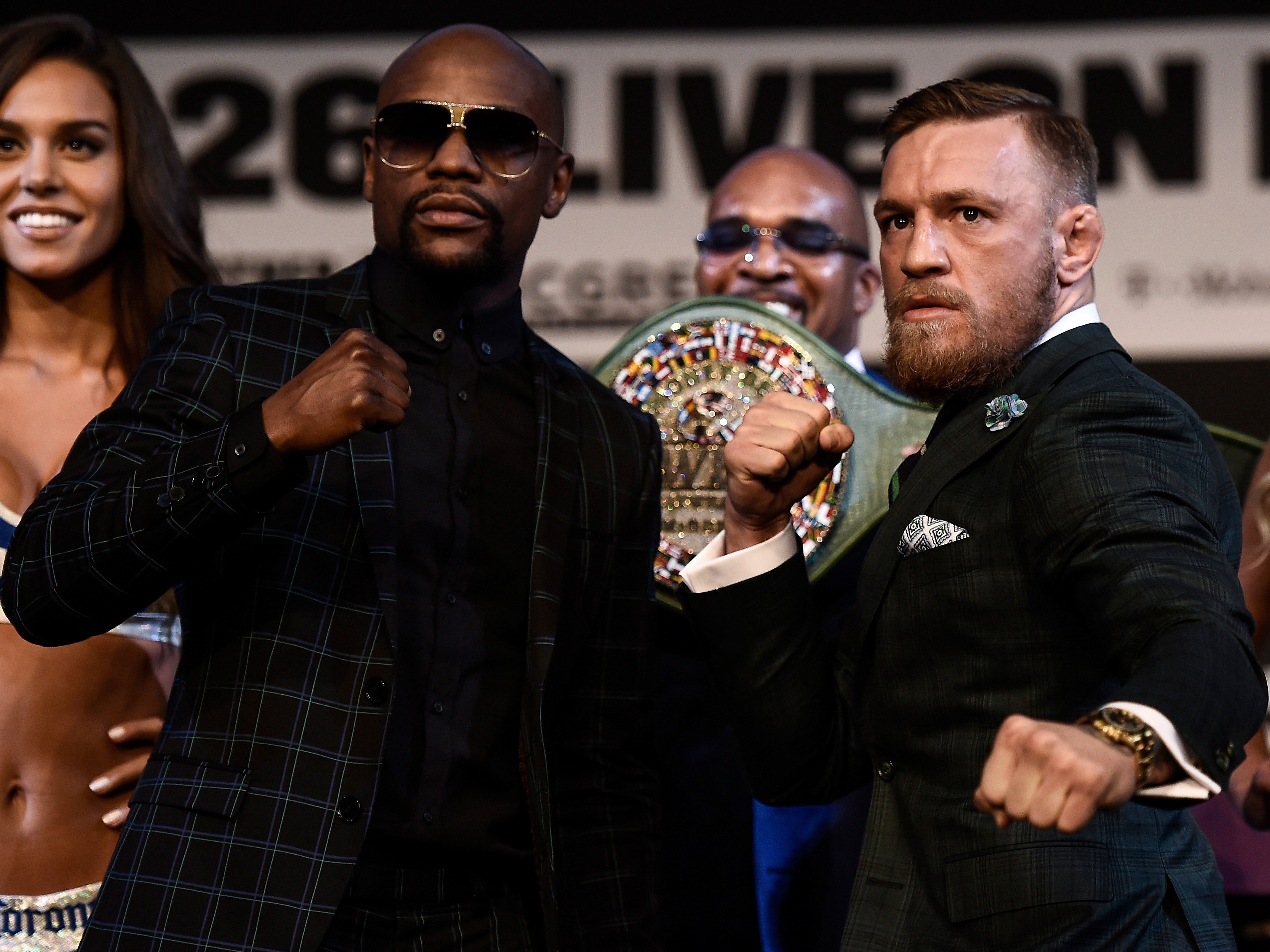 Floyd Mayweather Jr. v Conor McGregor – News Conference