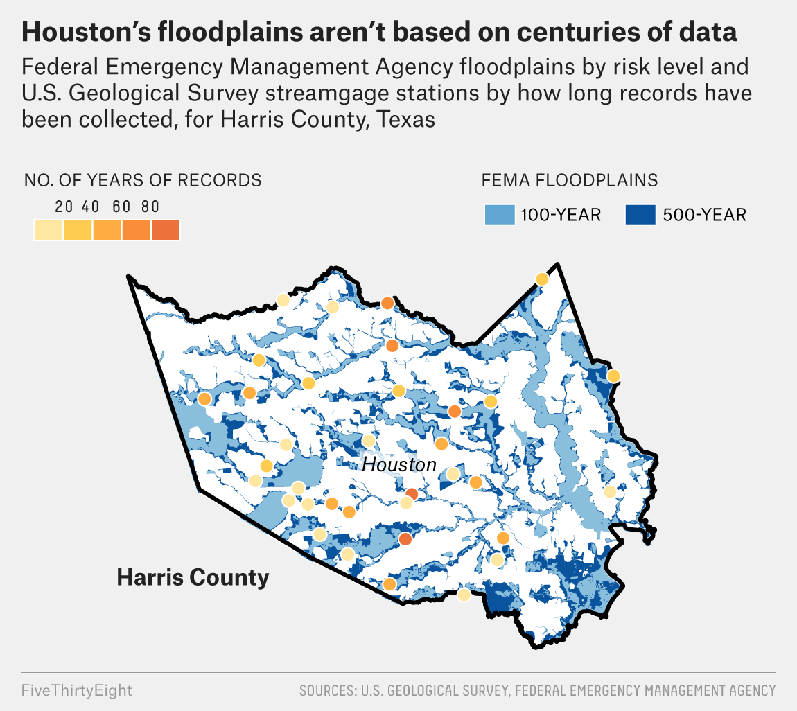 It's Time To Ditch The Concept Of '100-Year Floods ... Galveston County Flood Plain Map on galveston county zoning map, fort worth flood plain map, galveston county flood zone map, jersey village flood plain map,