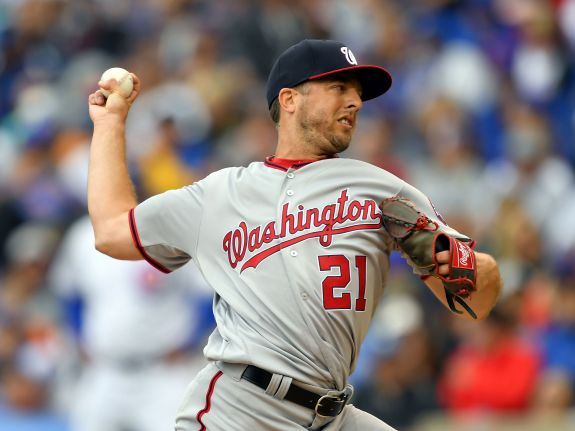 MLB: AUG 04 Nationals at Cubs