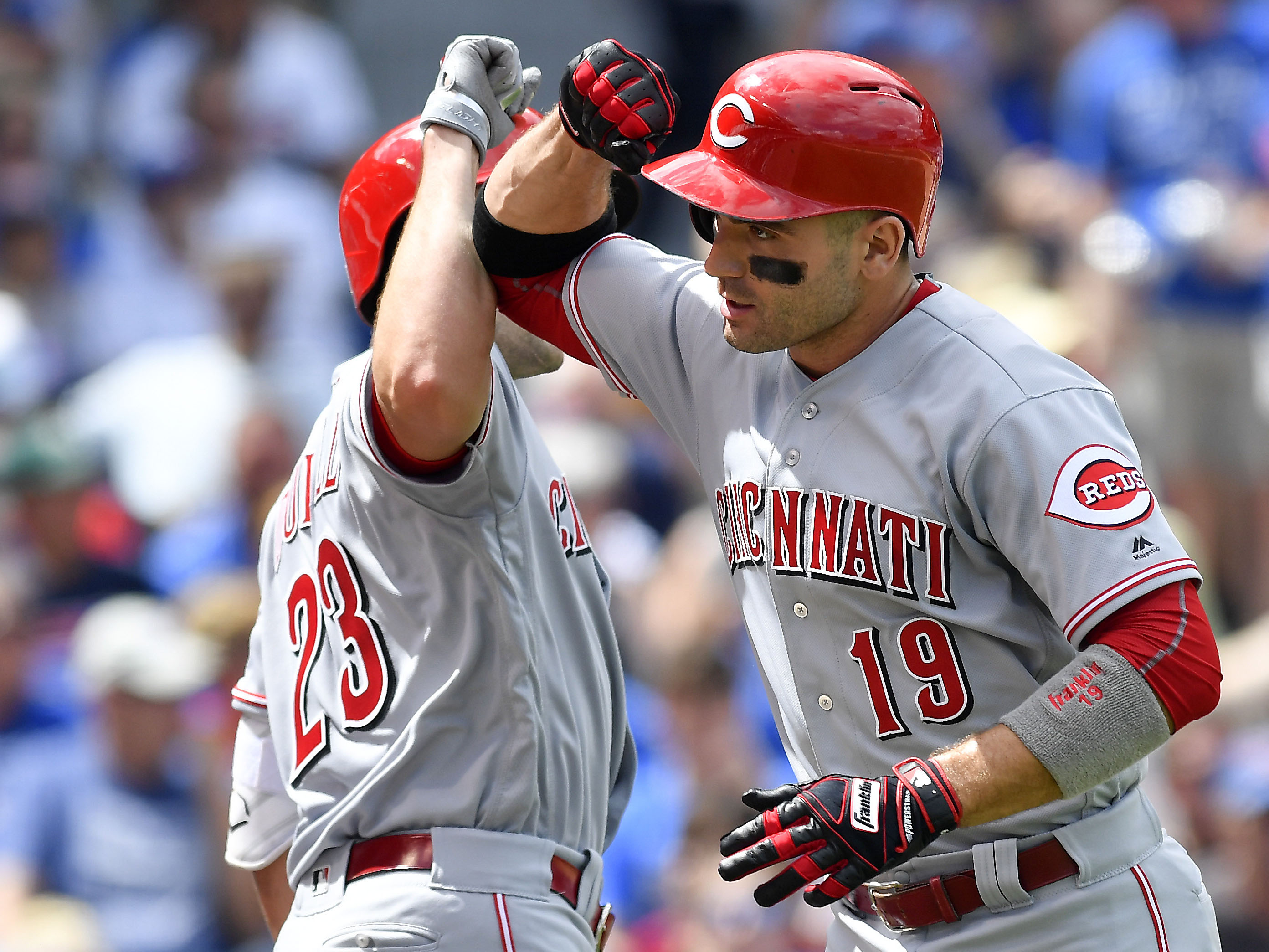MLB: AUG 17 Reds at Cubs