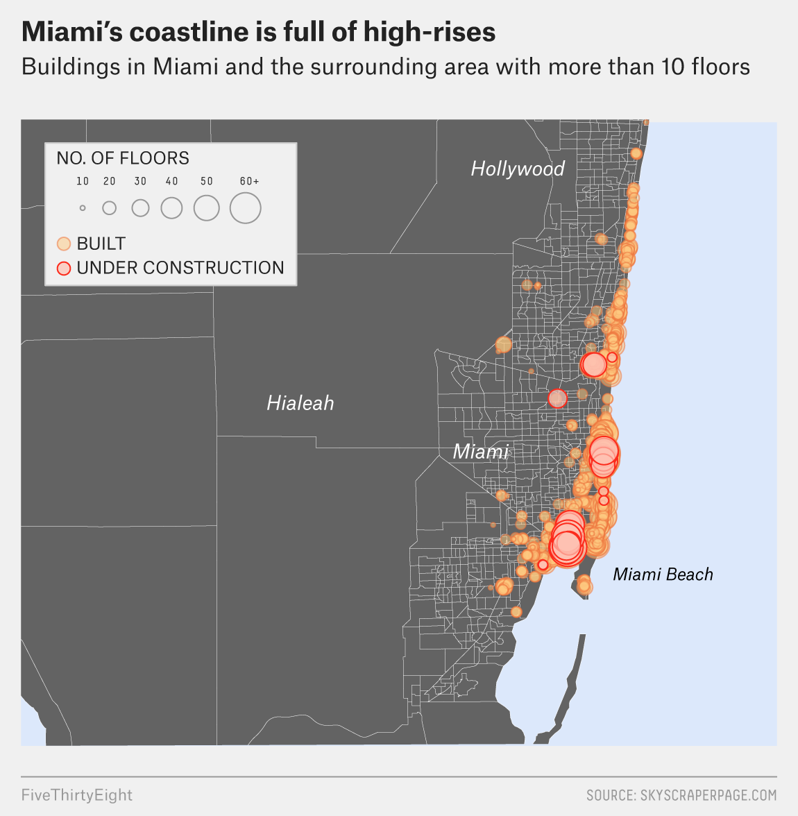 Will Miami S Skyscrapers Withstand Irma Fivethirtyeight