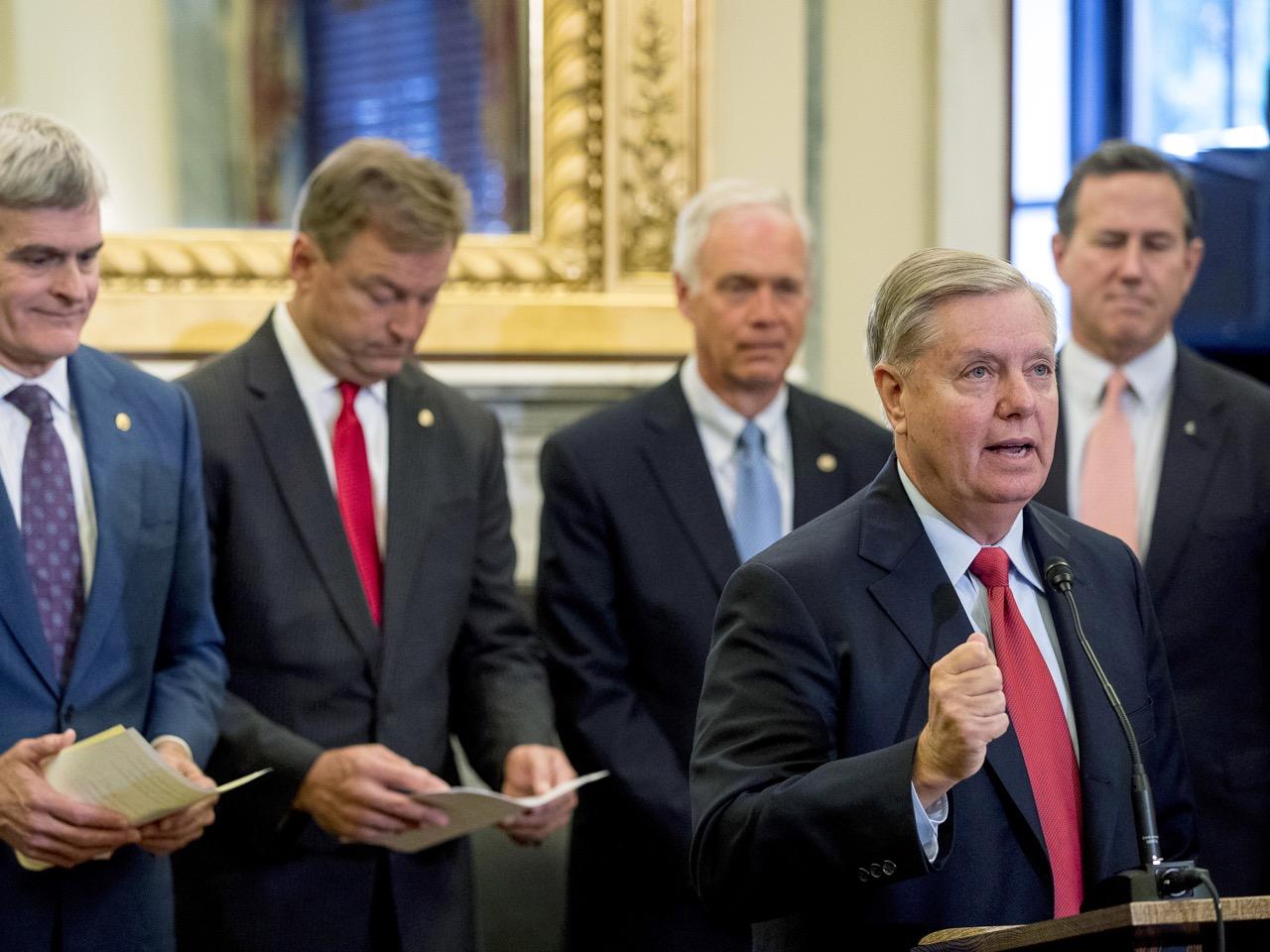 Lindsey Graham,Bill Cassidy,Ron Johnson,Dean Heller,Rick Santorum