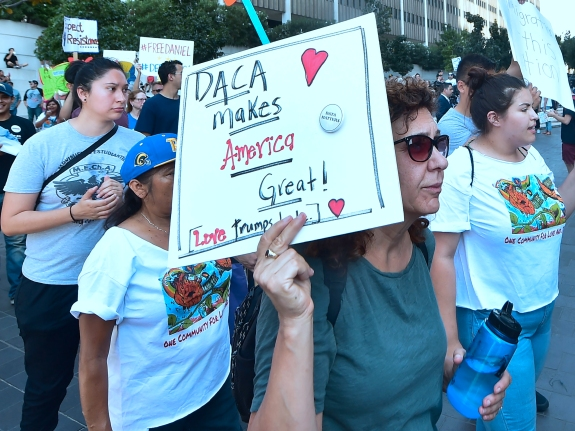 US-POLITICS-IMMIGRATION-DACA-RALLY