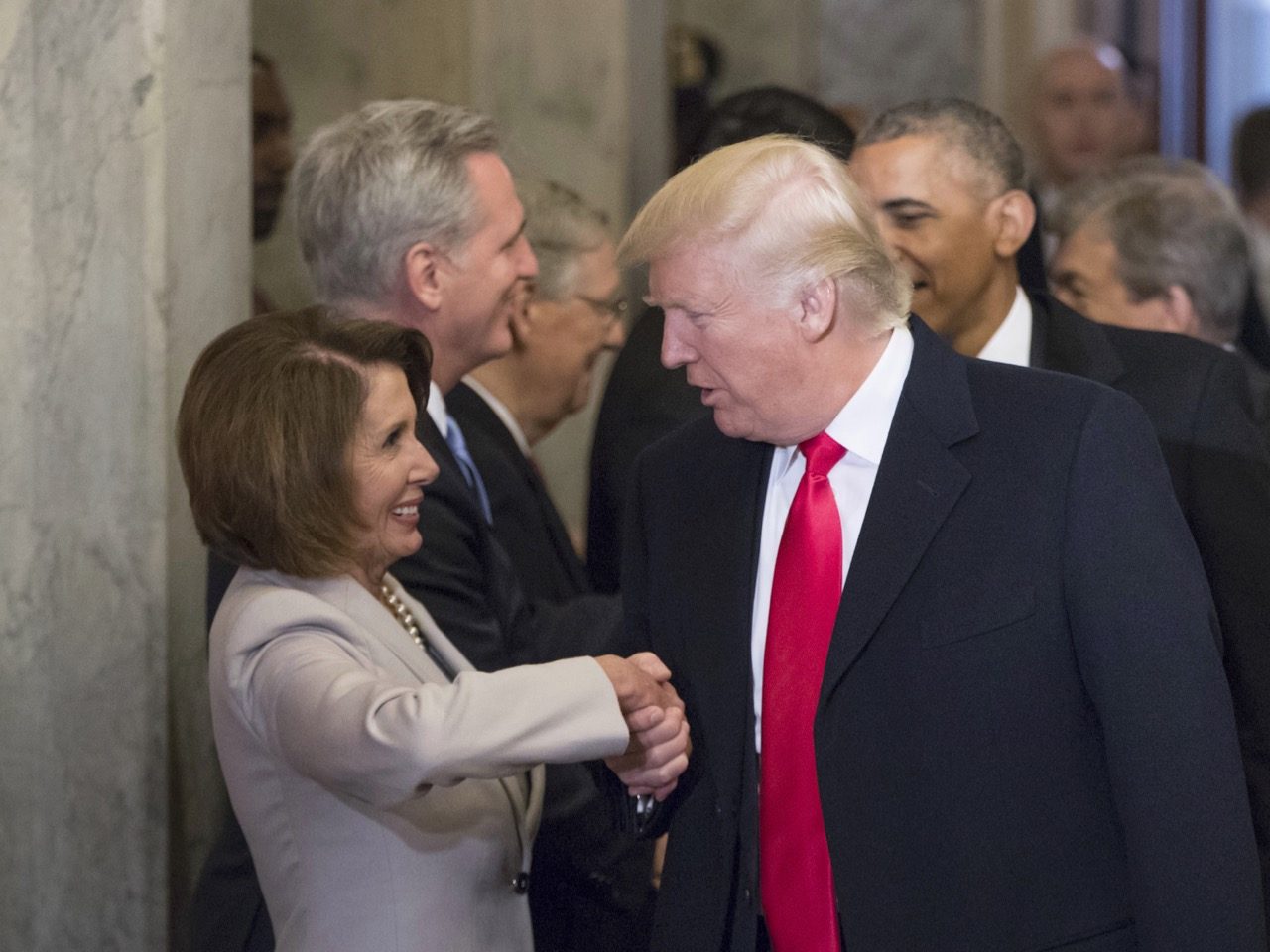 4 Theories To Explain Why Trump Is Suddenly Working With Democrats