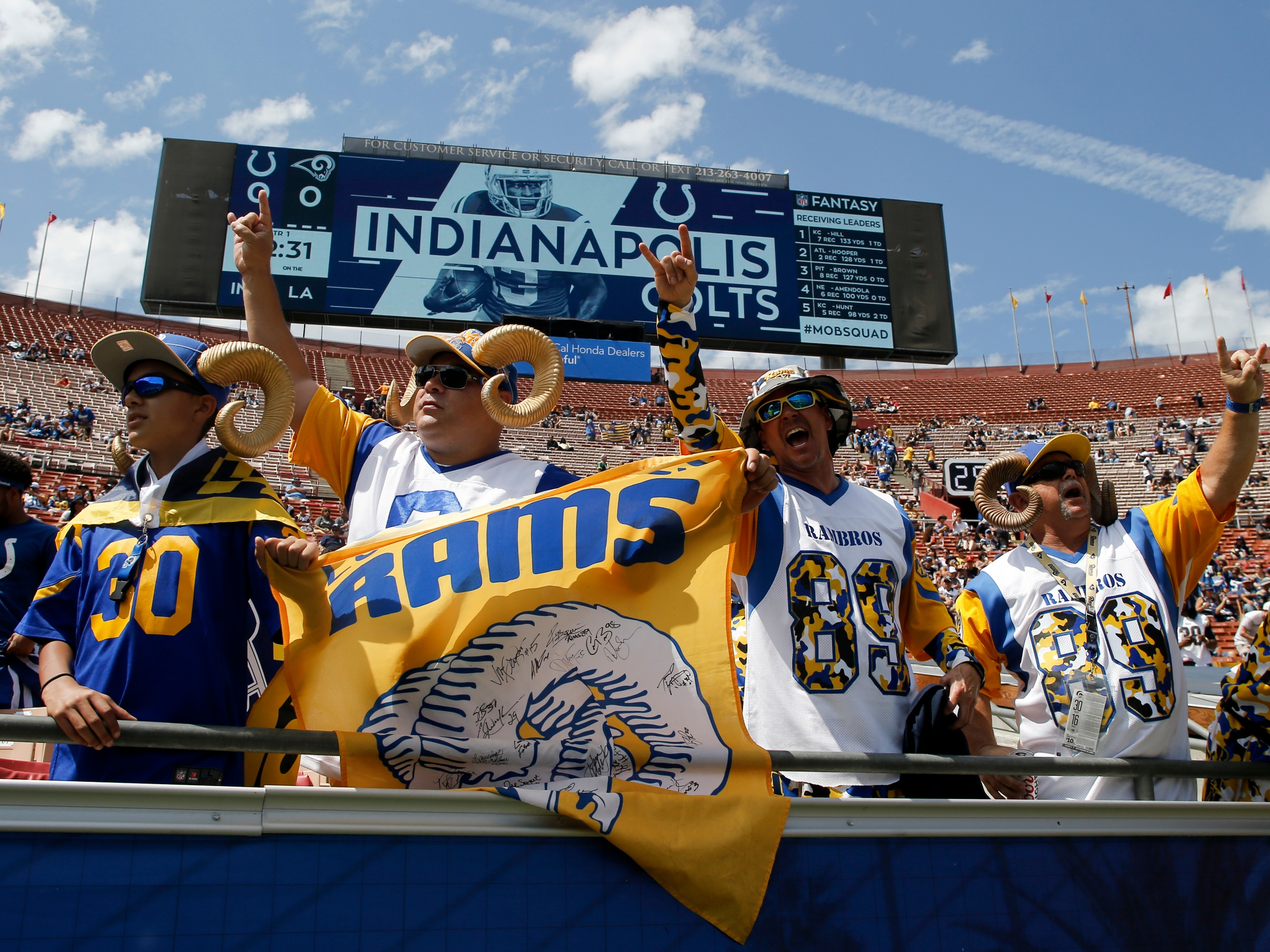 c22c667d35d The Rams Are Suffering The NFL's Worst Attendance Decline In Decades ...