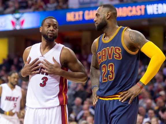 the latest be058 757bc LeBron And The Cavs Could Make Dwyane Wade Young Again ...