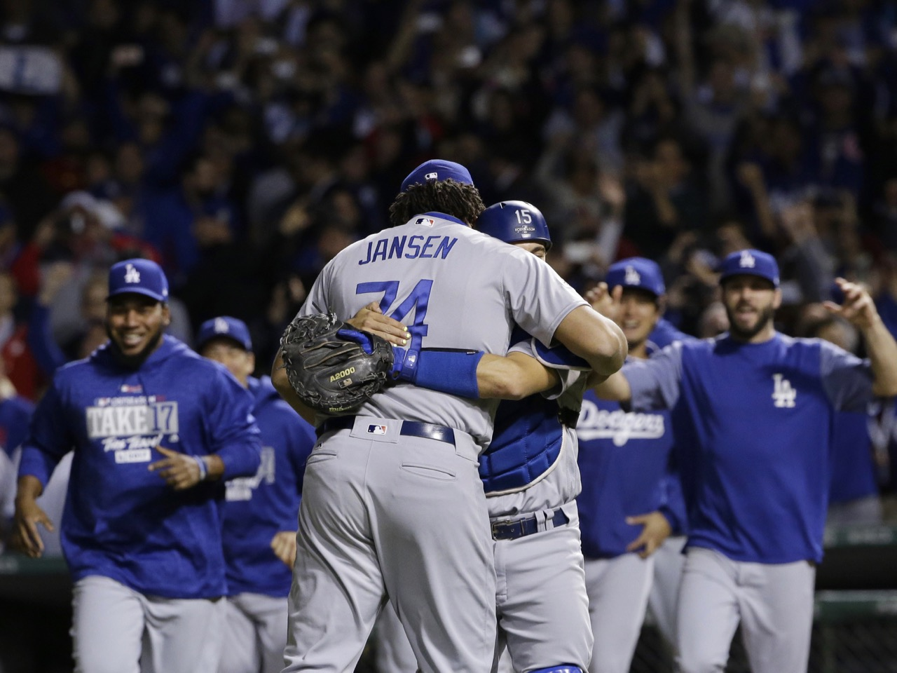 APTOPIX NLCS Dodgers Cubs Baseball