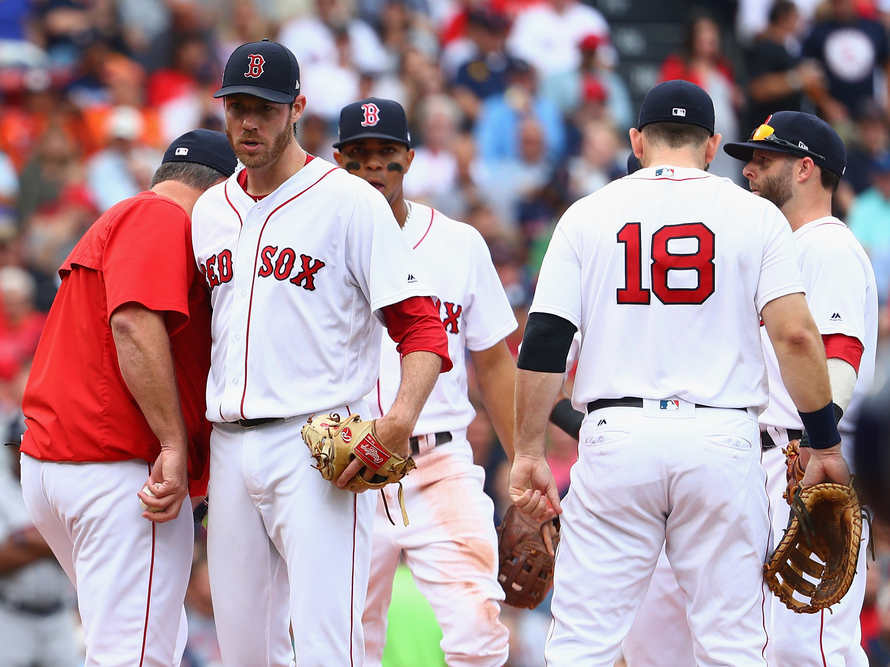 Divisional Round – Houston Astros v Boston Red Sox – Game Three