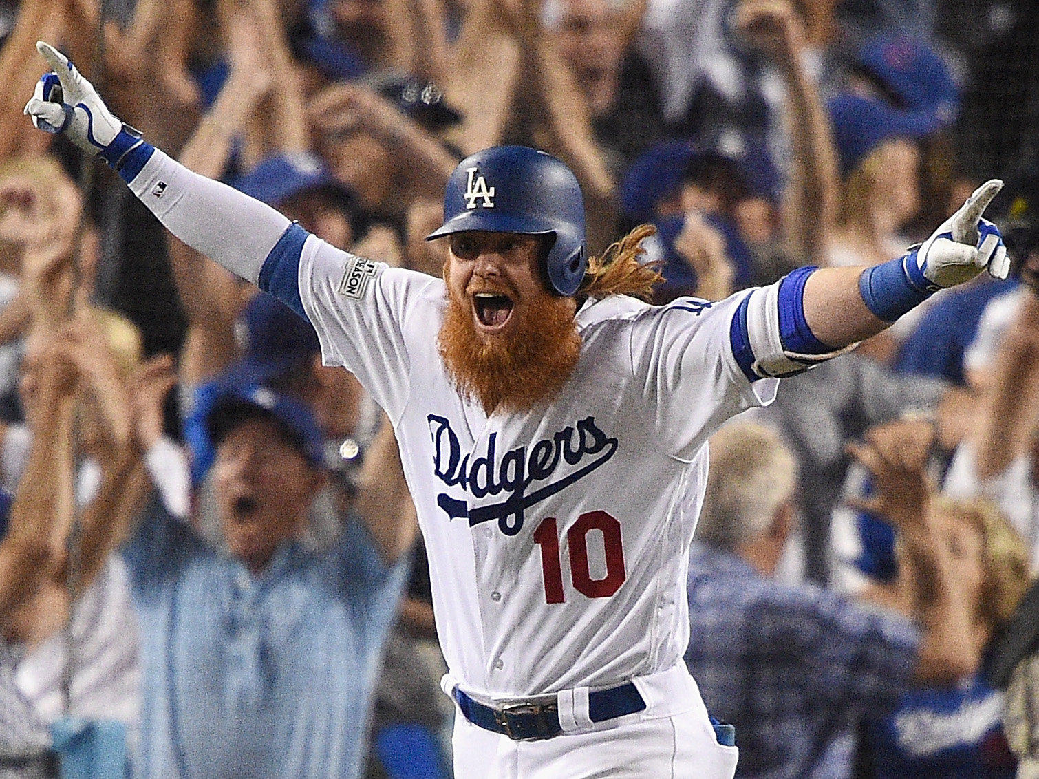 League Championship Series – Chicago Cubs v Los Angeles Dodgers – Game Two