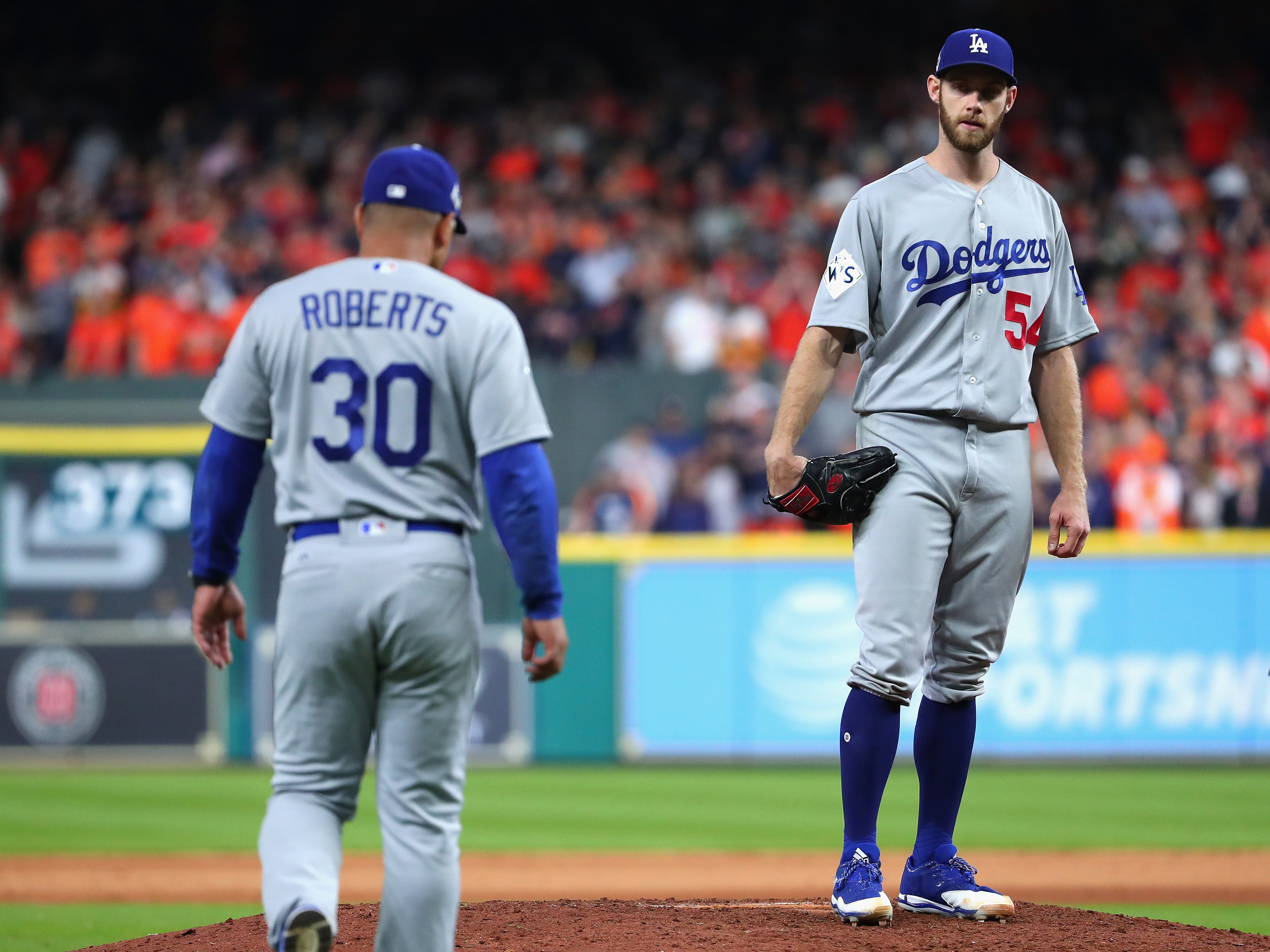 World Series – Los Angeles Dodgers v Houston Astros – Game Three