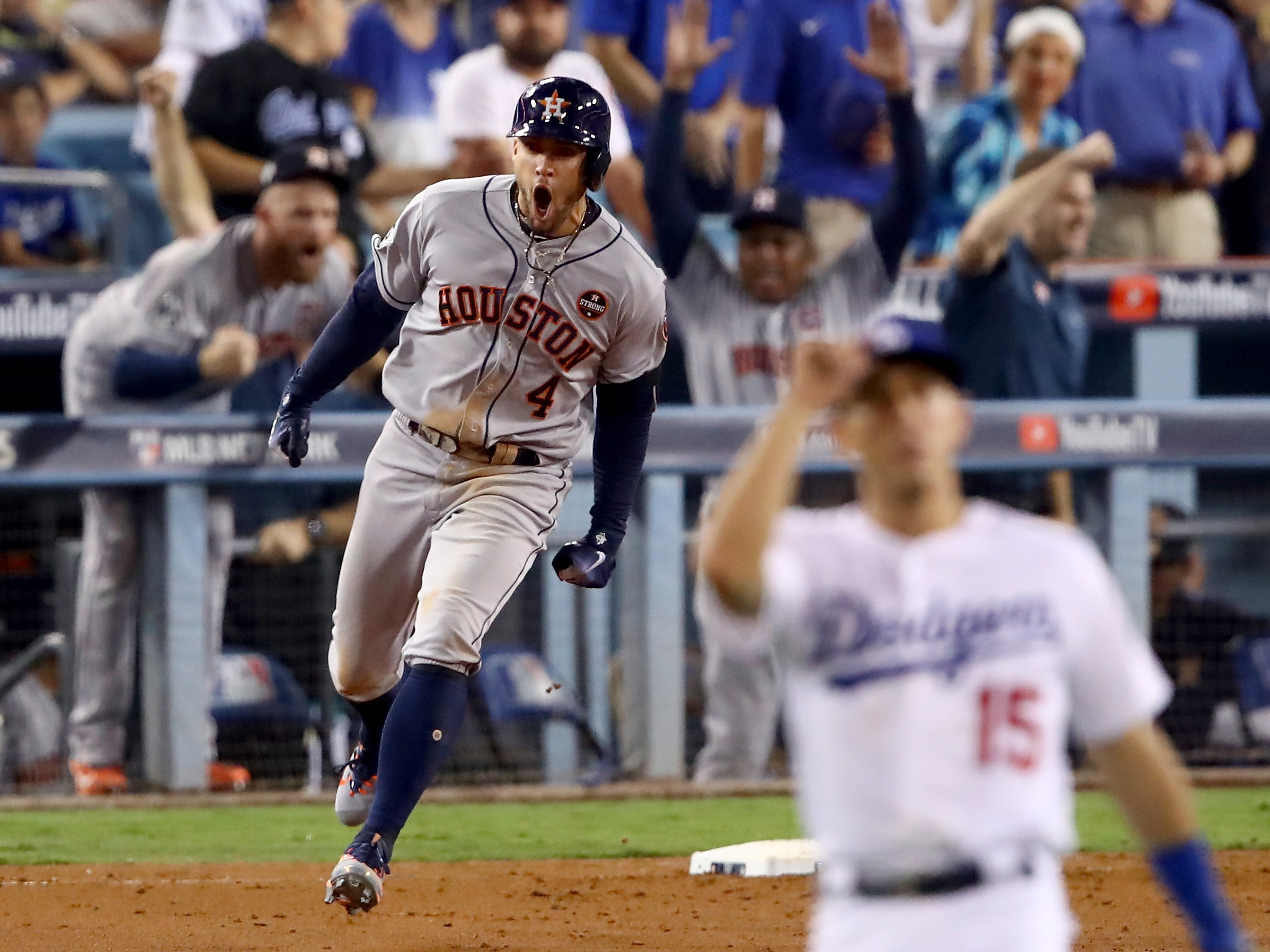 World Series – Houston Astros v Los Angeles Dodgers – Game Two