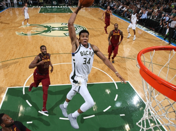Cleveland Cavaliers v Milwaukee Bucks