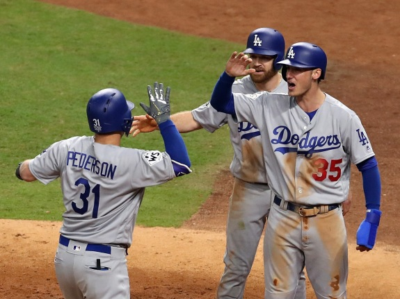 World Series – Los Angeles Dodgers v Houston Astros – Game Four