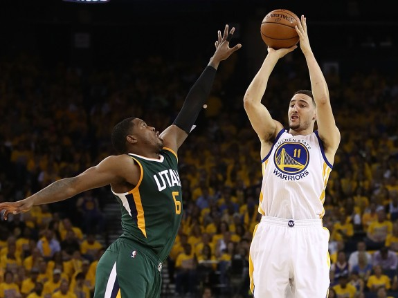 Utah Jazz v Golden State Warriors – Game One