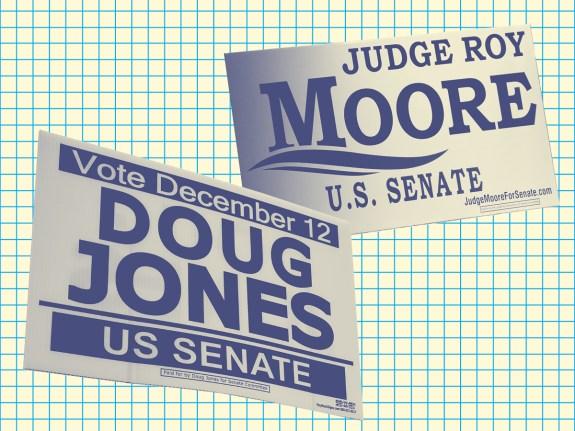 Is Roy Moore Losing?