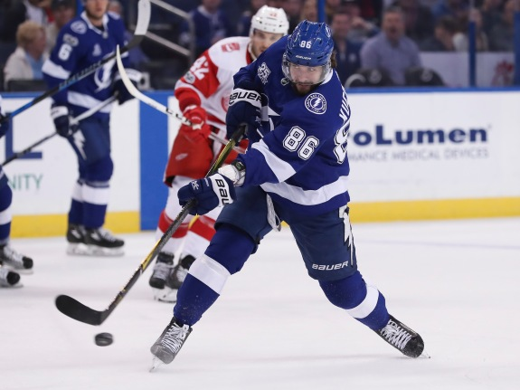 NHL: OCT 26 Red Wings at Lightning