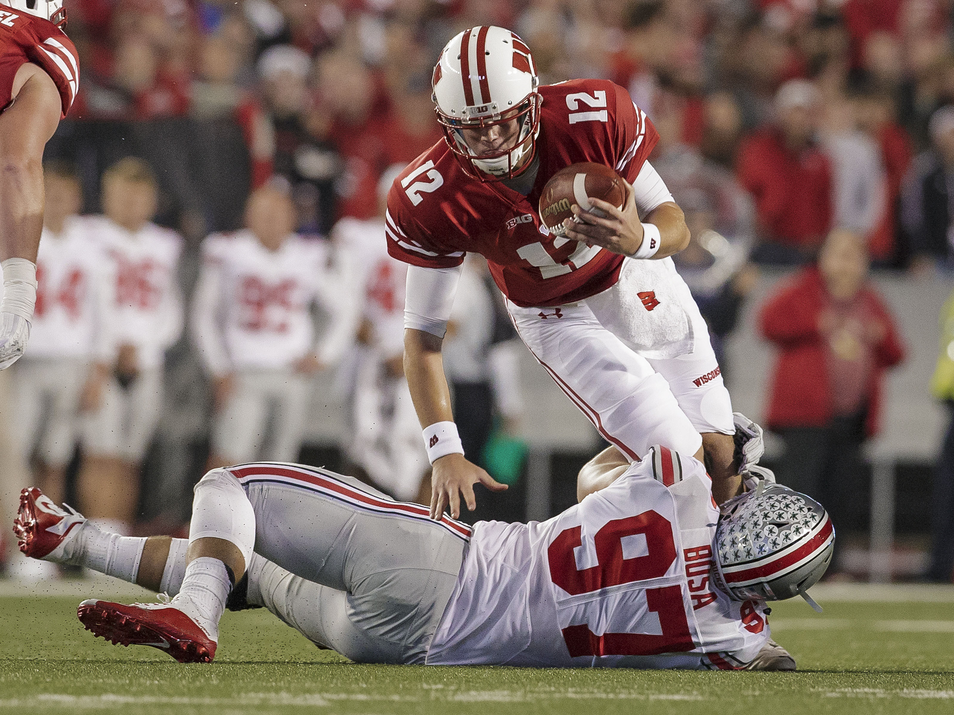NCAA FOOTBALL: OCT 15 Ohio State at Wisconsin