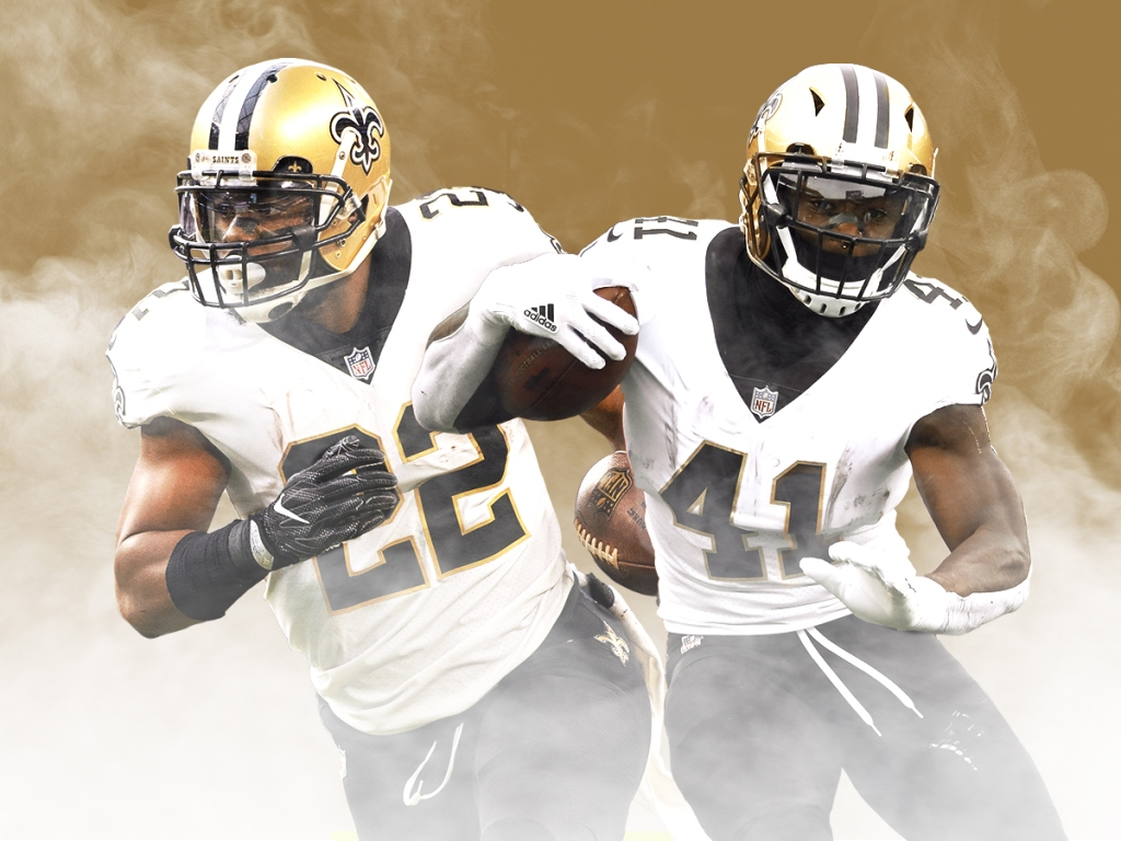 The Saints Running Back Tandem Could Be The Best In History