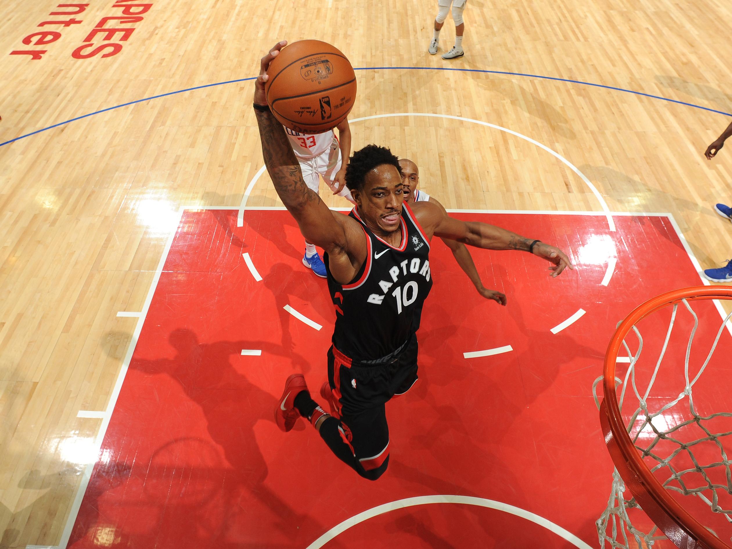 Toronto Raptors v LA Clippers