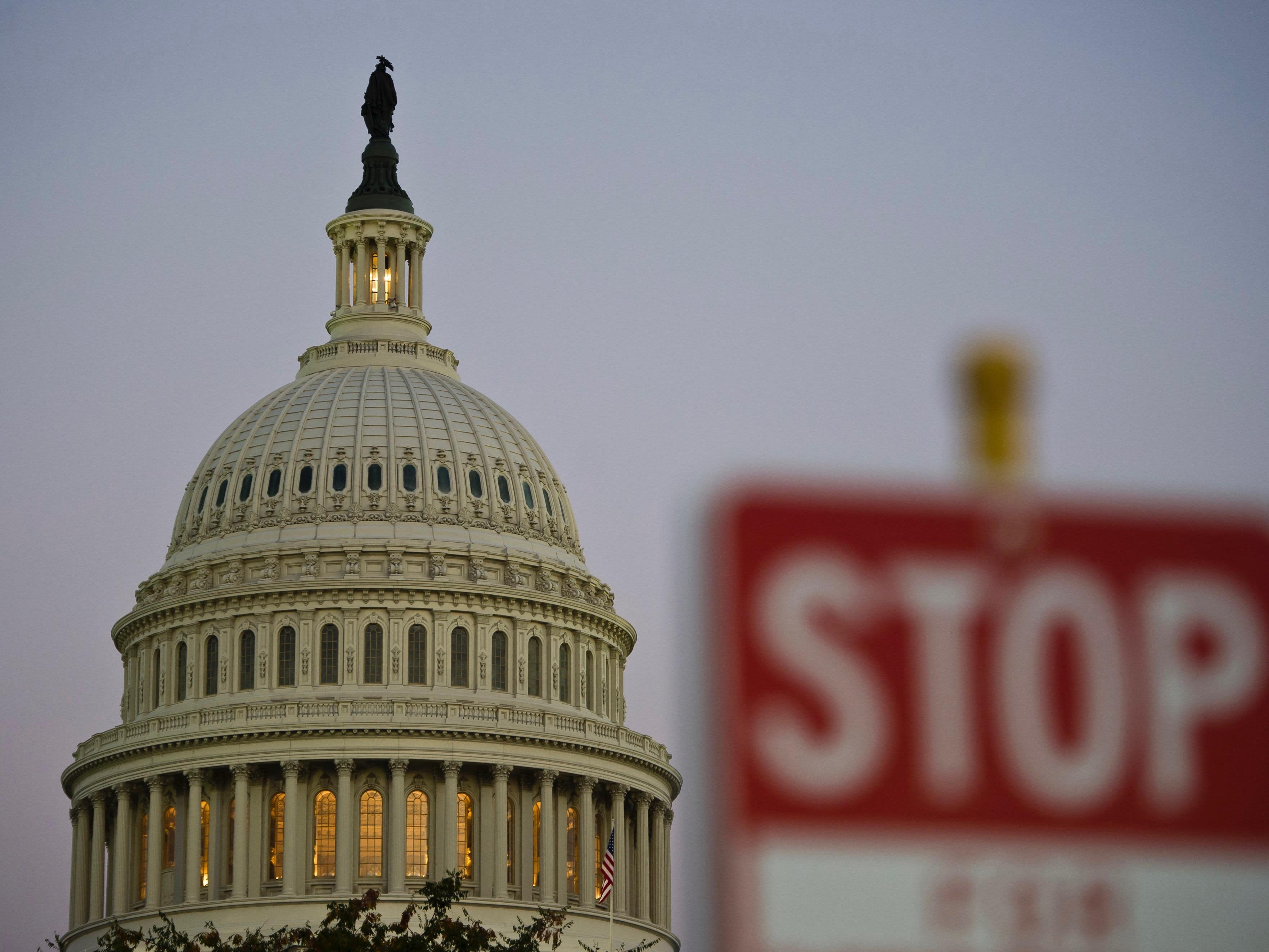 US – POLITICS – GOVERNMENT- SHUTDOWN