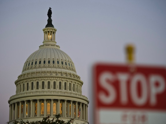 US – POLITICS – GOVERNMENT- SHUTDOWN