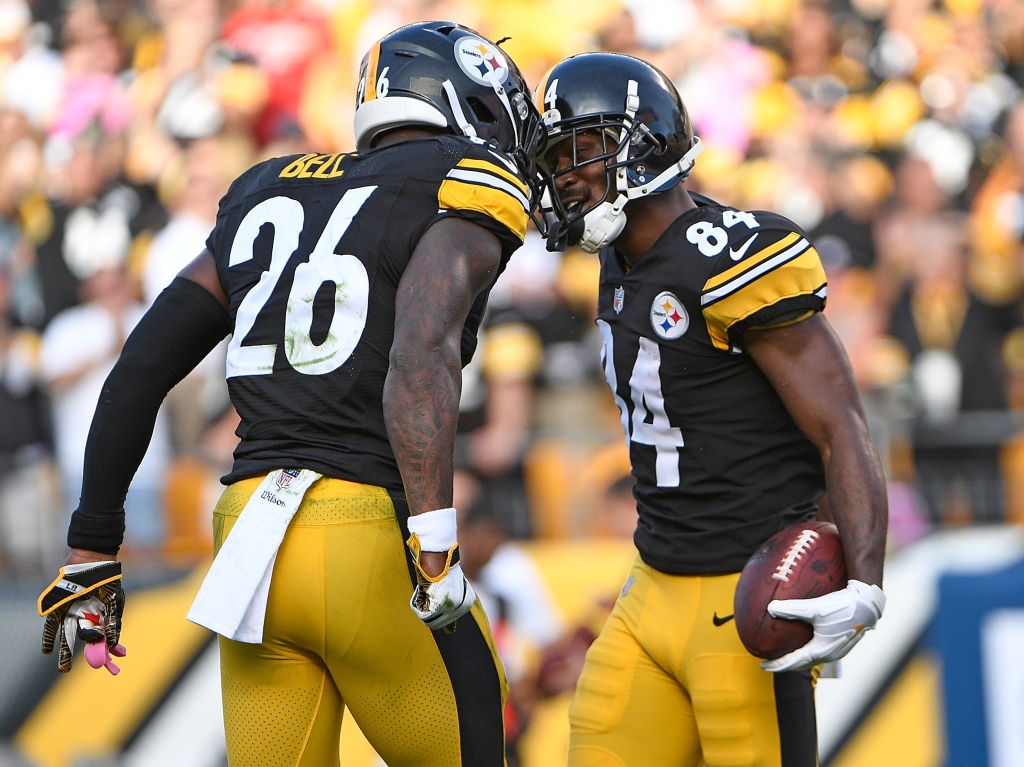 new style 83186 e7e36 The Steelers Have The Best Running Back-Receiver Duo. Ever ...
