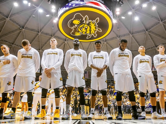 COLLEGE BASKETBALL: FEB 18 Northern Iowa at Wichita State