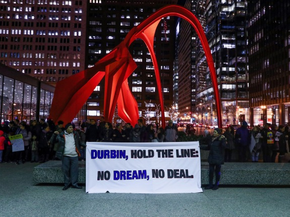 """Dreamers"" protest in Chicago"