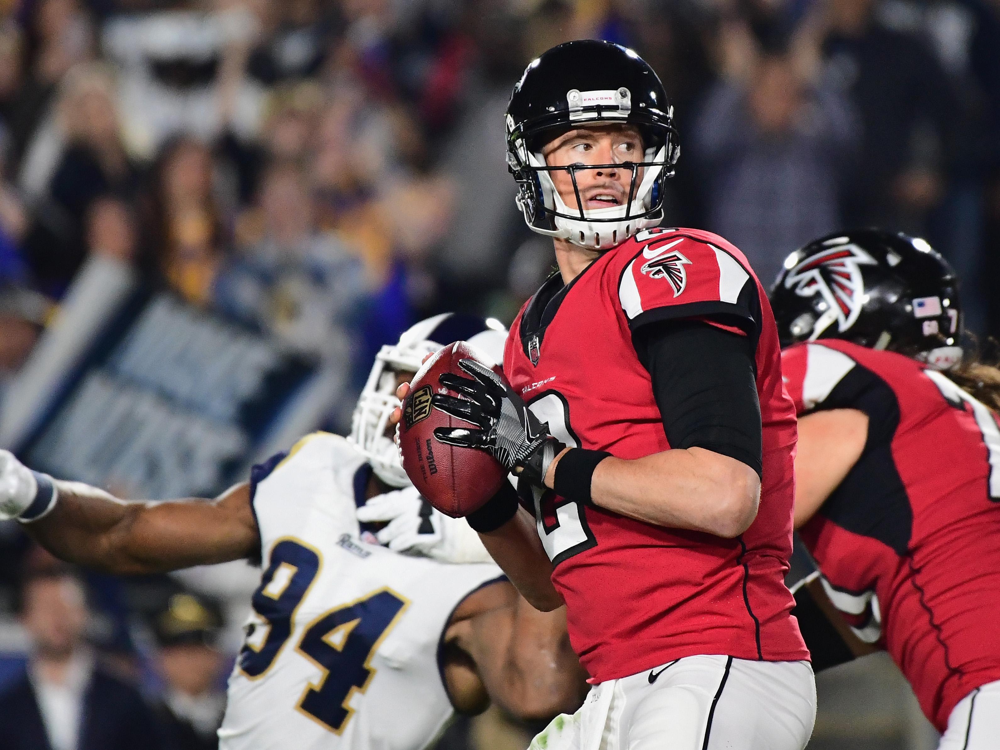 Wild Card Round – Atlanta Falcons v Los Angeles Rams