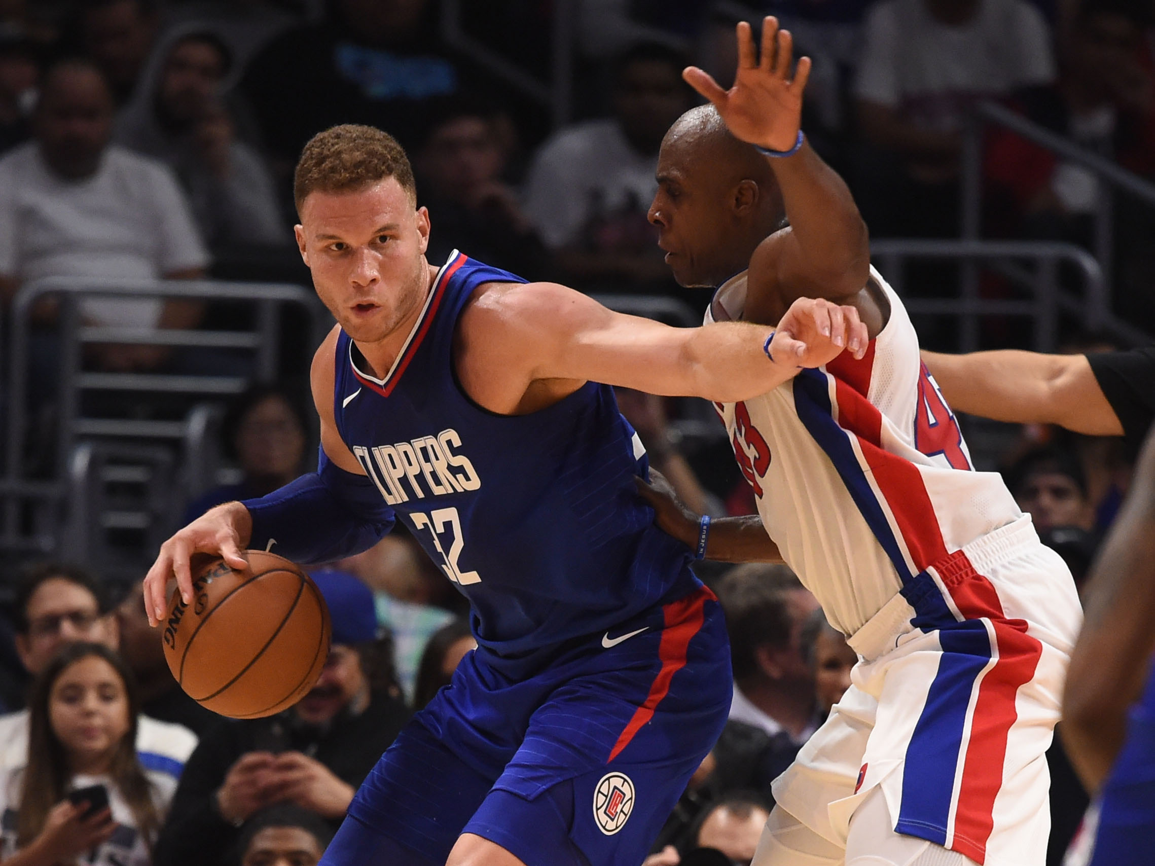 NBA: OCT 28 Pistons at Clippers