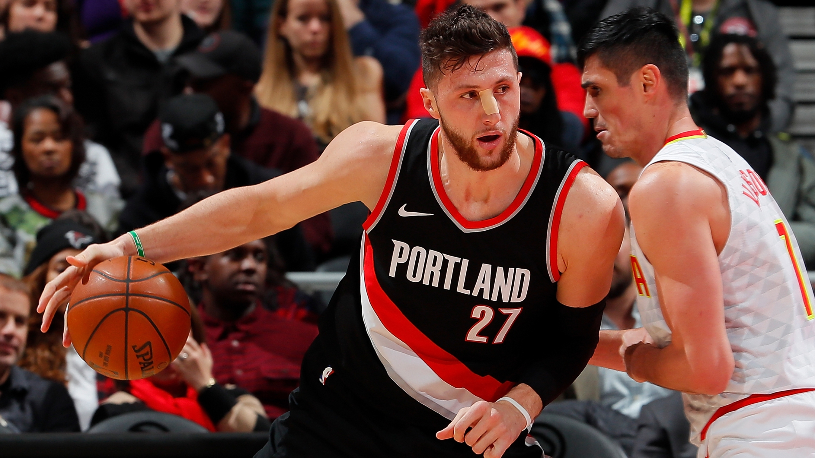 The Nba Cant Stop Hitting Jusuf Nurkic In The Face Fivethirtyeight