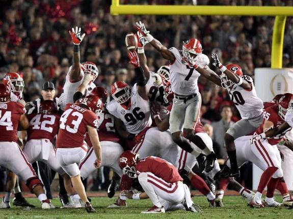 Rose Bowl Game – Oklahoma v Georgia