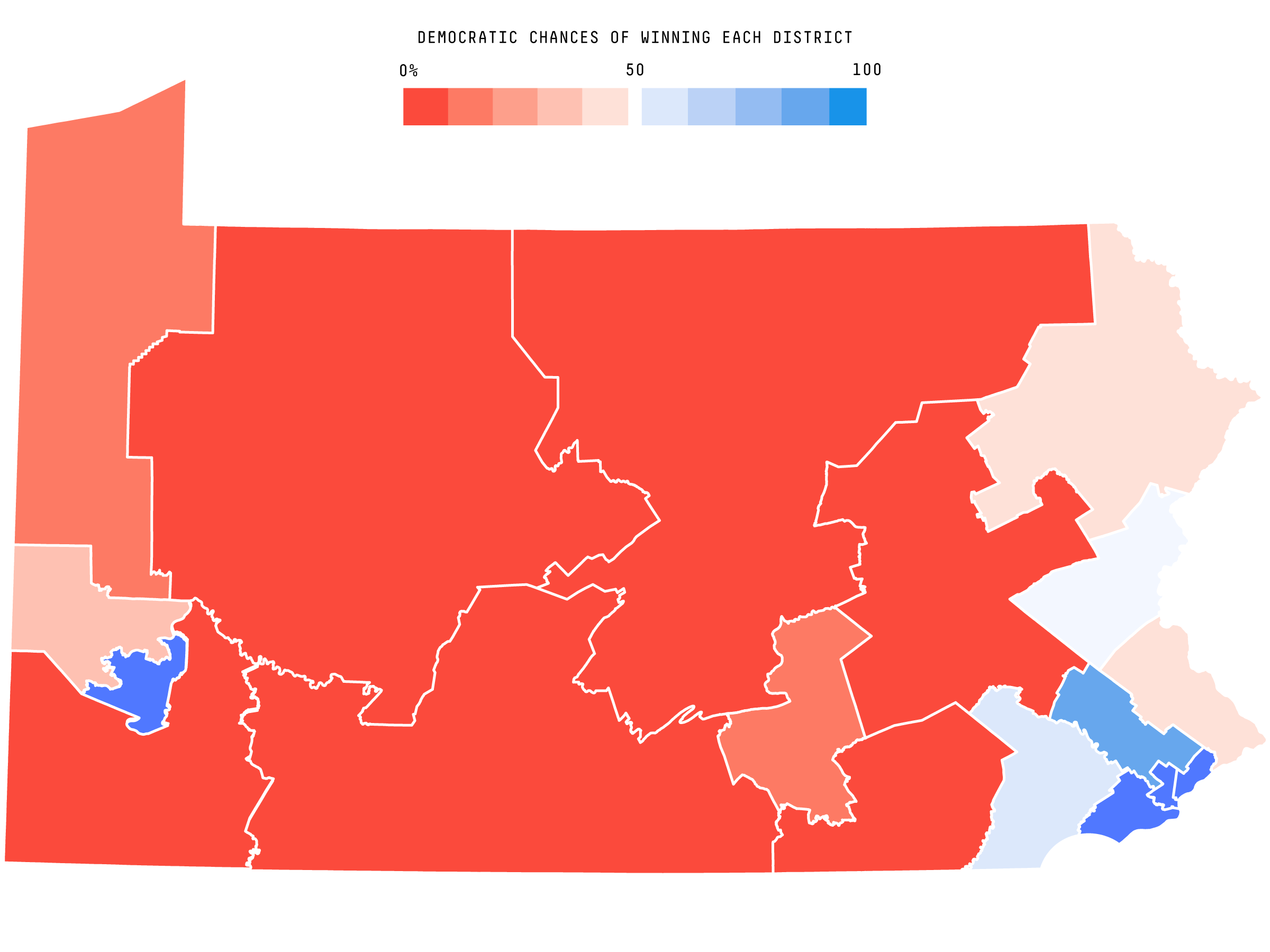Pennsylvanias New Map Helps Democrats But Its Not A Democratic