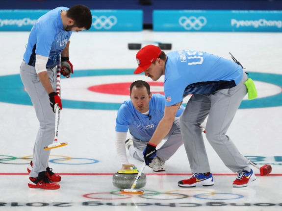 Curling – Winter Olympics Day 13