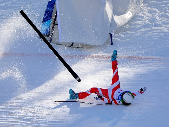 Vancouver 2010 – Alpine Skiing – Crash Sequence