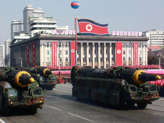 NKOREA-MILITARY-PARADE
