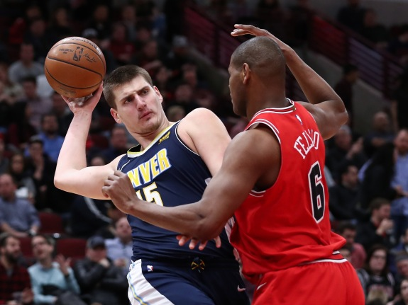 NBA: Chicago Bulls vs Denver Nuggets