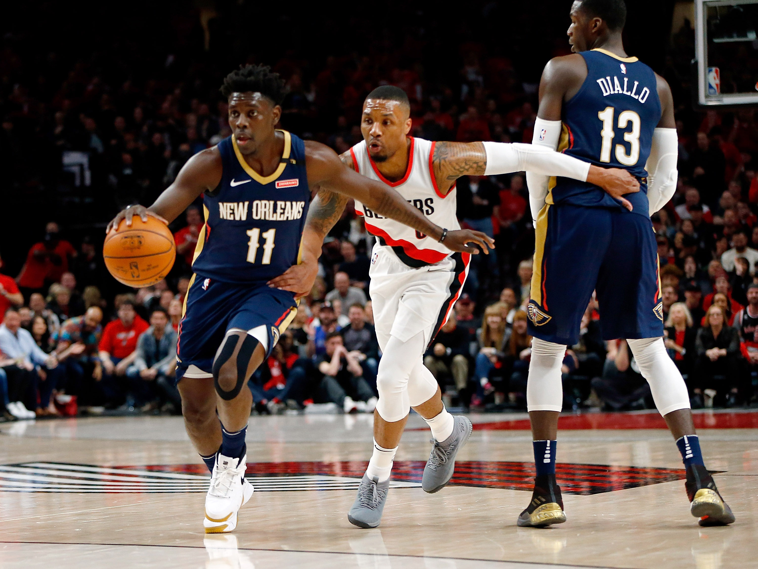 New Orleans Pelicans v Portland Trail Blazers – Game Two