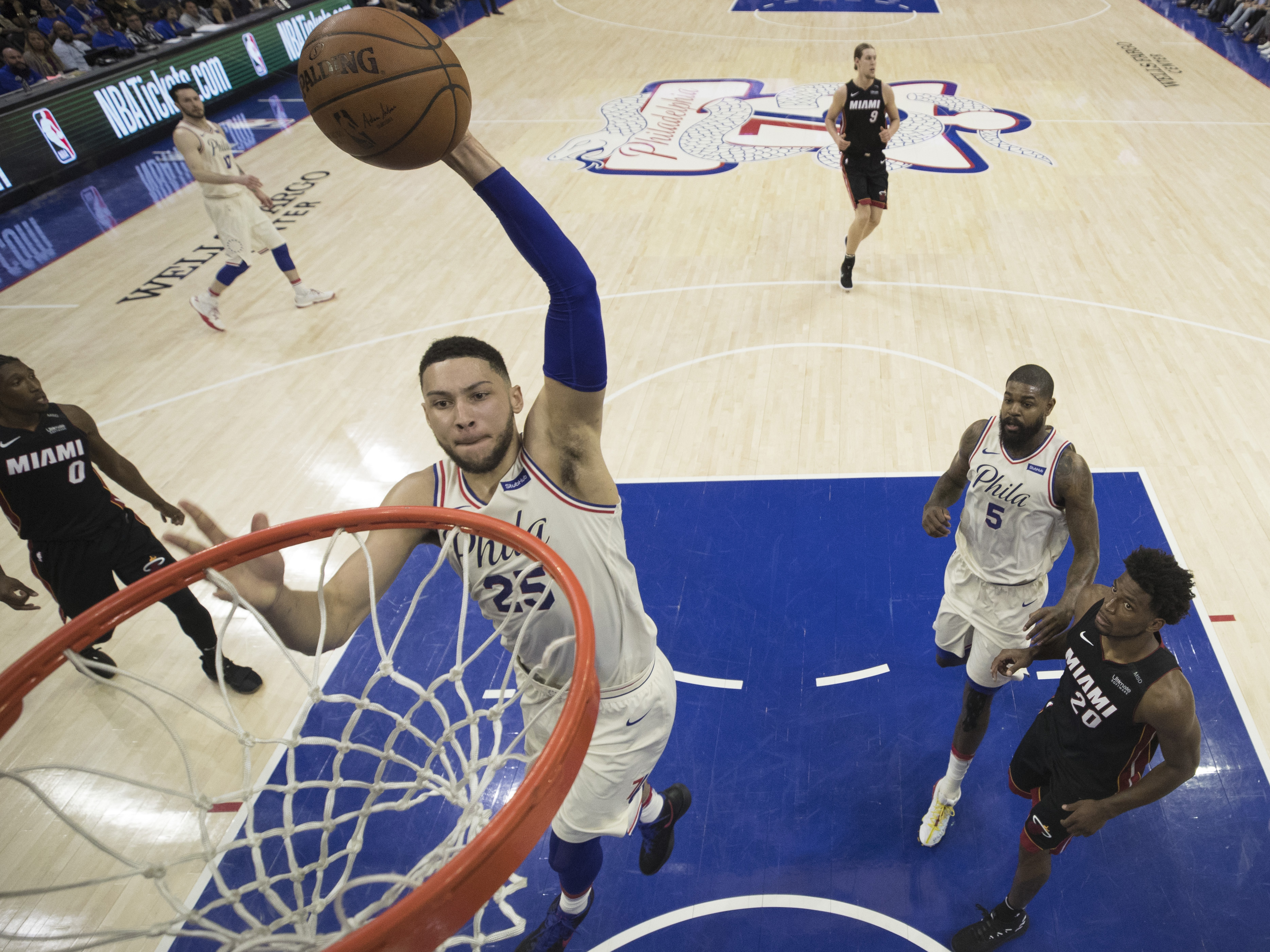 Miami Heat v Philadelphia 76ers – Game One